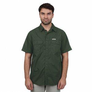 Bushman košile Pretoria dark green XXL