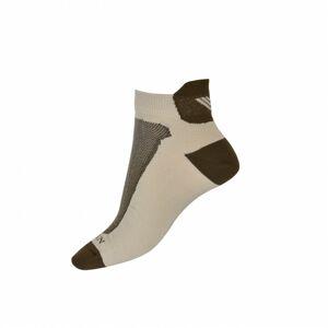 Bushman ponožky Bushman short beige 36-38