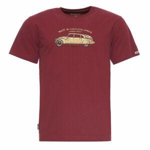 Bushman tričko Bobstock burgundy XL