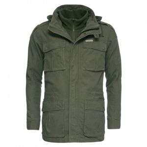 Bushman bunda Wolf dark green L