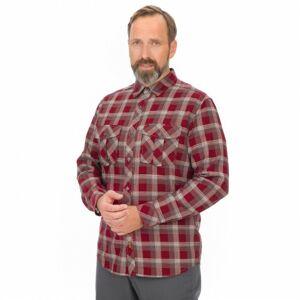 Bushman košile Rigaud burgundy XL