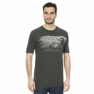 Bushman tričko Firebaugh dark grey XL