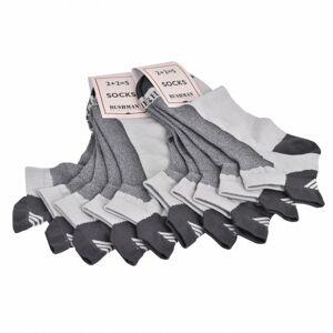 Bushman ponožky Promo Set Short 5 grey 36-38