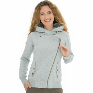Bushman mikina Ingrit light grey XXL