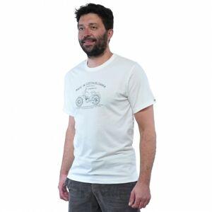 Bushman tričko Bobstock II white XXXXL