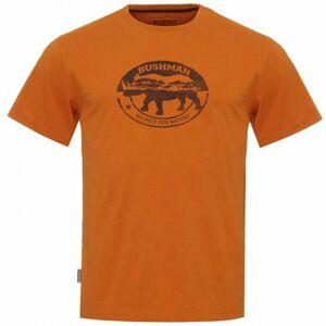 Bushman tričko Path orange L