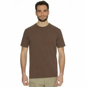 Bushman tričko Base dark brown M